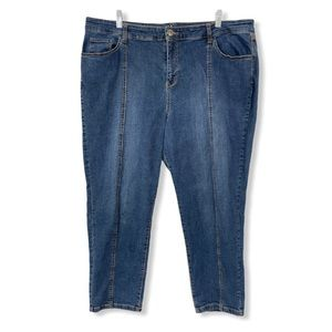 Style & Co. Jean Capris Cropped Jeans Blue Stretch